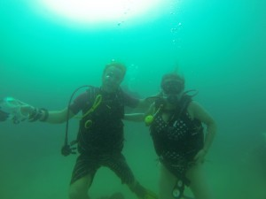 Great experience during your holiday - lets try scuba diving with our awesome instructor Alex