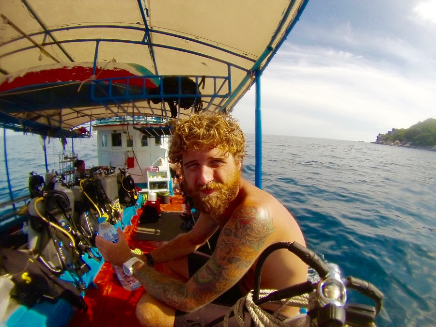Diving Career from suit to sea