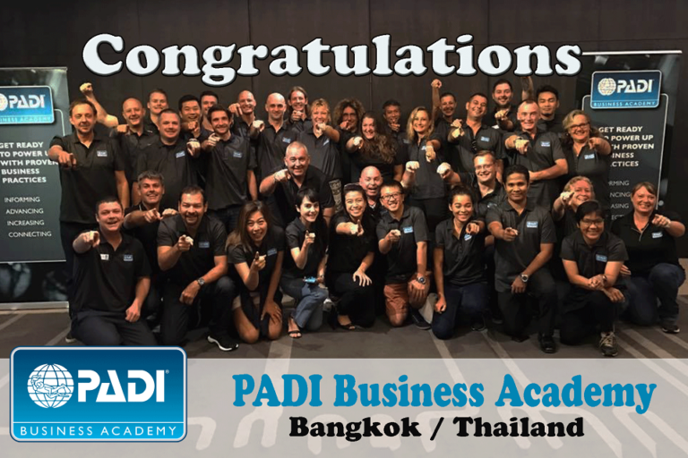 PADI Business Academy 2017, helping us progress in the right direction